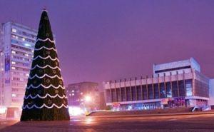 Новогоднюю елку в Луганске торжественно зажгут 20декабря