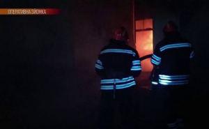 Сегодня ночью в Сватово горели автомобили.