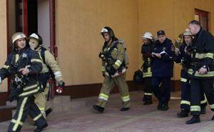 В школе № 13 из-за пожара эвакуировали 167 учащихся и 25 сотрудников