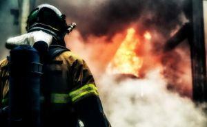 Под Луганском горел интернат: есть погибшие