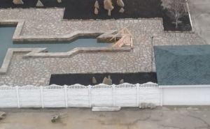 Уникальная Крещенская купель появилась в Луганске в районе кв. Мирный. ФОТО