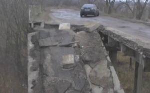 На Луганщине хотят закрыть аварийный мост между Лисичанском и Северодонецком