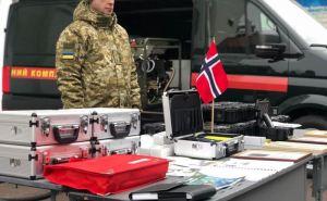Украинским пограничникам подарили оборудование на 1,5 миллиона гривен