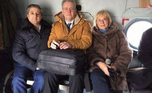 Рабочая делегация с Главой ОБСЕ уже направляется в Станицу Луганскую