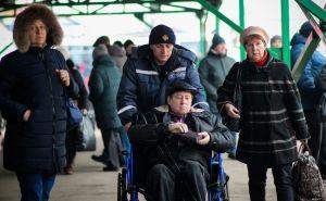 На КПВВ «Станица Луганская» спасатели оказывали помощь нуждающимся более 10 тысяч раз. ФОТО