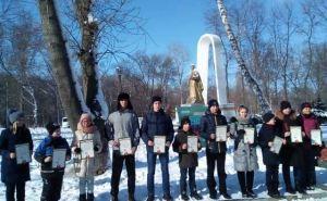 В парке Горького состоялся кросс, посвященный освобождению Луганска. ФОТО