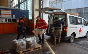 Красный Крест передал помощь для интерната на Луганщине