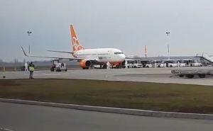 Самолет из Уханя сел в Борисполе. Но потом он опять полетит в Харьков. ФОТО