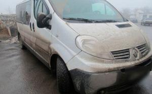 На линии разграничения пограничники обнаружили четыре машины, которые были в розыске