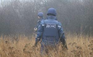 За сутки на Луганщине нашли и уничтожили более сотни взрывоопасных предметов