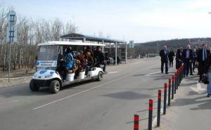 На КПВВ «Станица Луганская» изменилось время работы электрокаров