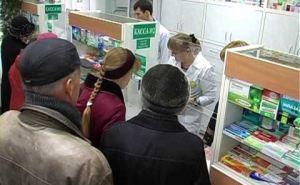В Лисичанске аптечный «бум»: масок уже нет, антисептики найти можно