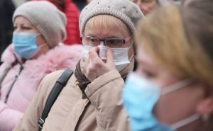 В Луганске Пенсионный фонд принимает только граждан в индивидуальных масках