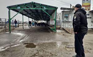 Как работает сегодня КПВВ «Станица Луганская» в режиме ограничения