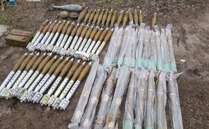 СБУ обнаружили 7 тайников с оружием в Счастье, Лисичанске и Мирной Долине