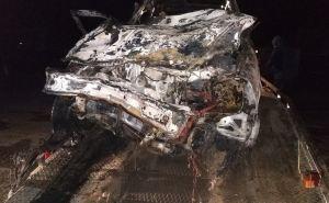 Из-за пьяного водителя в ДТП заживо сгорела 17 летняя девушка, 4 человека госпитализированы. ФОТО