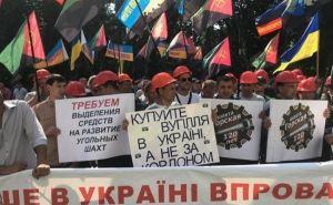 Шахтеры Донбасса пойдут на Киев вместе с женами и детьми,— М.Волынец