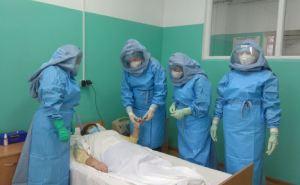 В Луганской области один из заболевших коронавирусом находится в реанимации. Данные о больных по районам. КАРТА