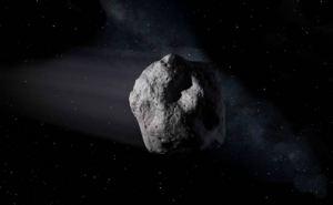 Зафиксирован полет гигантского астероида возле Земли. ВИДЕО онлайн