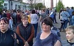 После визита правительственной делегации на шахту «Никанор-Новая» забастовка горняков продолжилась