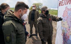 Зеленский встретился с жителями Луганска