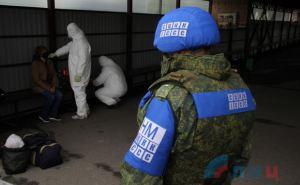Сегодня был организован переход через КПВВ «Станица Луганская» людей имеющих особые жизненные ситуации