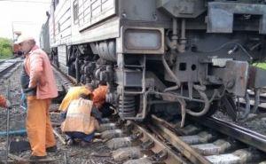 Поздно вечером 22мая на станции Чернухино произошла ж/д авария. ФОТО