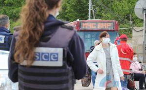 Сегодня через КПВВ «Станица Луганская» был организован переход для нуждающихся. ФОТО