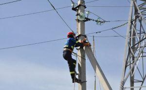 Отсутствие электроснабжения в Луганске
