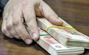 Луганчанин задержан за дачу взятки в один миллион рублей
