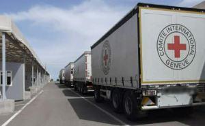Красный Крест направил 50 тонн гумпомощи