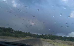 В районе Северодонецка прошел дождь, но он не повлиял на ситуацию с пожарами