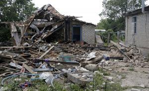 Пожар уничтожил 12 домов в пгт Донецкий под Кировском