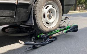 В центре Северодонецка автомобиль сбил 12 летнего велосипедиста. ФОТО
