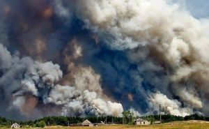 Пожарные Луганской области оправдываются, почему не смогли эвакуировать людей из поселка Волчье озеро