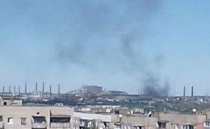 На Алчевском меткомбинате крупный пожар. ФОТО