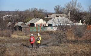 Под минометный обстрел попал н.п. Золотое-5. Поврежден жилой дом, электроподстанция и ЛЭП