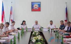 В Луганске на совещание собрались все силовики
