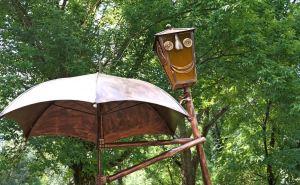 В луганском Парке Горького появился новый арт-объект. ФОТО