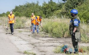 Со стороны Луганска начались работы по оборудованию КПВВ у Счастья и Золотого