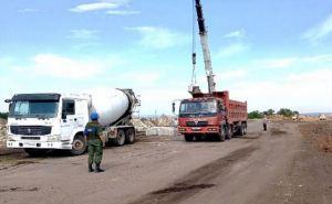 Со стороны Луганска начали строить КПВВ возле Счастья и Первомайска. ФОТО