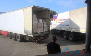 Стало известно, что привезли в Луганск автомобили гумконвоя МЧСРФ