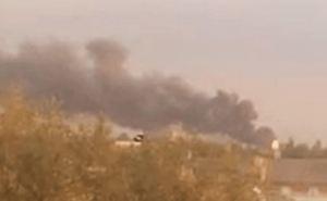 Что вчера горело в Луганске: «100-й завод» или Патронный завод? ФОТО