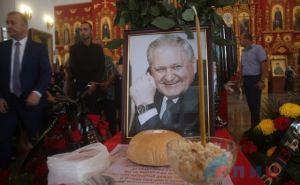 В Луганске простились с Виктором Тихоновым. ФОТО