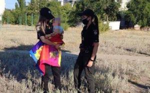 В центре Северодонецка на газоне нашли 9-месячного ребенка. ФОТО