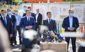 О чем говорил Зеленский в Харькове: образование, строительство, вырубка леса