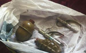 В поселке Юбилейный нашли сумку с гранатами