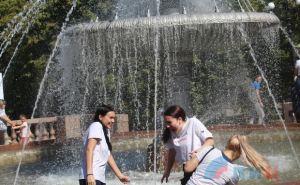 Студенты ЛГАКИ первыми отпраздновали День города Луганска с помощью гирь и канатов. ФОТО
