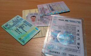 На Украине вводят новые бланки водительских удостоверений. ФОТО