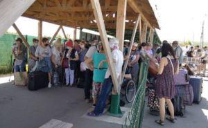 За неделю КПВВ в Станице Луганской смогли пересечь менее 20 тысяч человек
